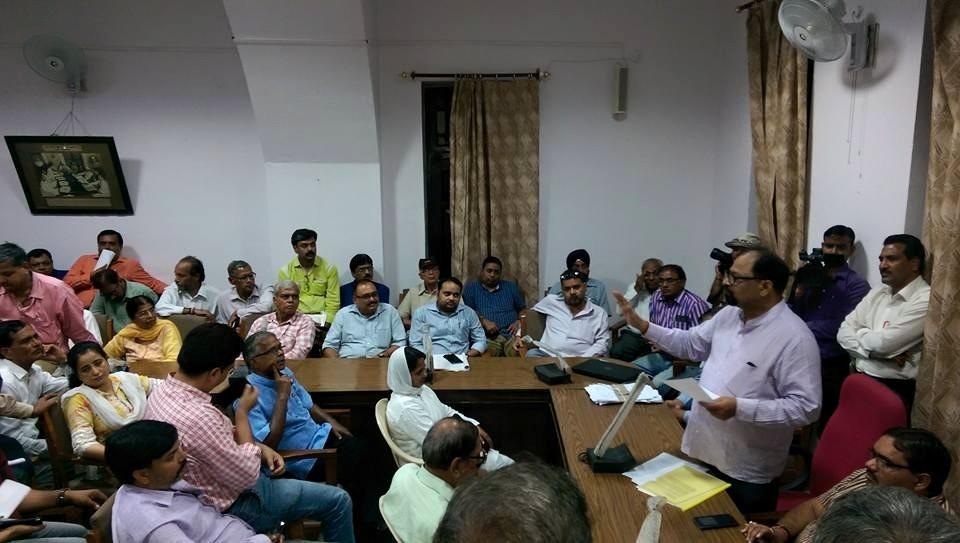 meeting press room